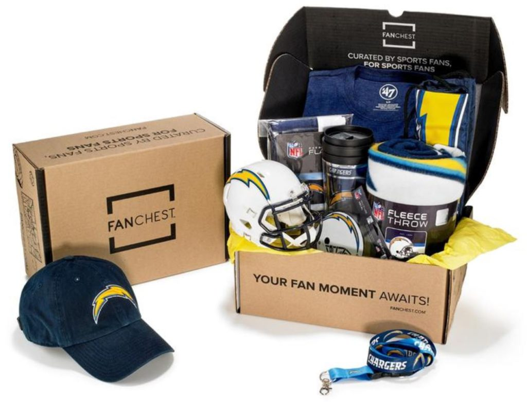 Los Angeles Chargers Gift Set