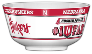 ncaa man cave snack bowls tailgating