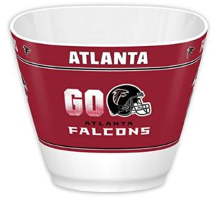 atlanta falcons snack bowl man cave
