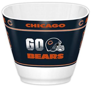 chicago bears snack bowl gift man cave