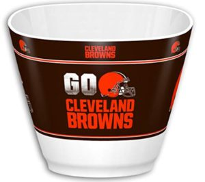 cleveland browns snack bowl for the man cave