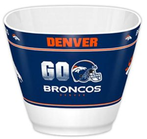denver broncos snack bowl man cave